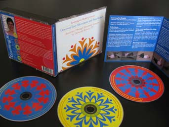 image of pain and curiosity cds, booklet and cover