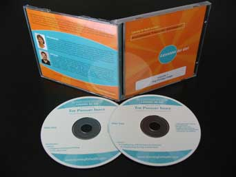 image of easy hands and arms cds, booklet and cover